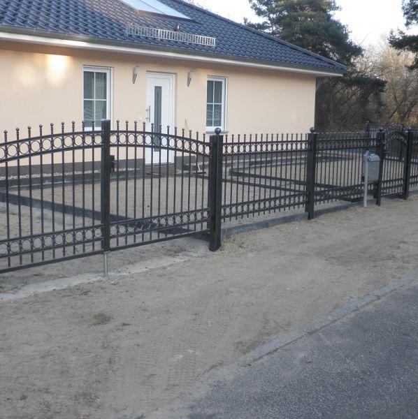 Wunderbar Bild Nr.Z.5: Zäune: Garten Zaun Und Tor Verzinkt U0026
