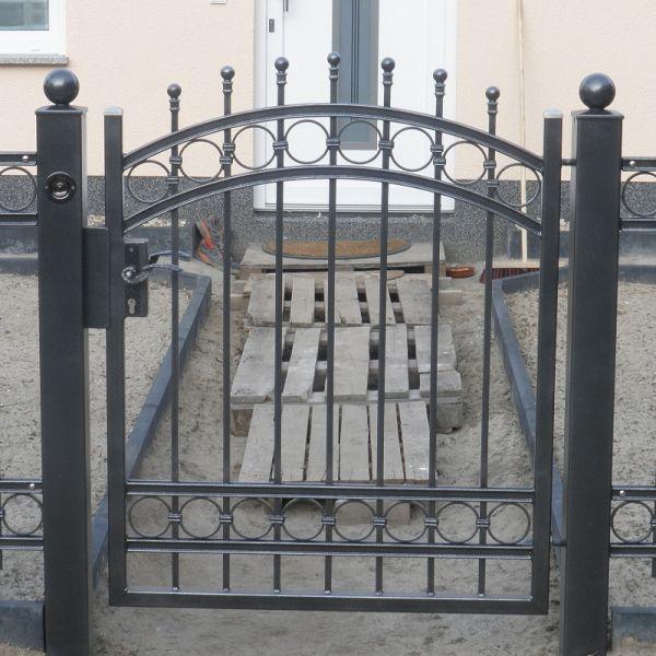 Bild Nr.Z.6: Zäune: Garten Zaun Und Tor Verzinkt U0026