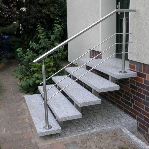 Edelstahl Naturstein Design Berlin Schonefeld Freitragend