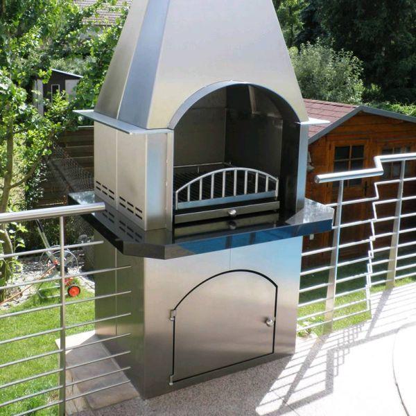 edelstahl naturstein design berlin sch nefeld grilltische grilltische grillkamine von. Black Bedroom Furniture Sets. Home Design Ideas